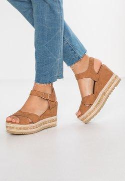 Refresh - Sandalen met hoge hak - camel