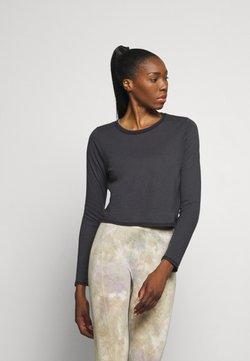 Onzie - VINTAGE TIE BACK - T-shirt à manches longues - black