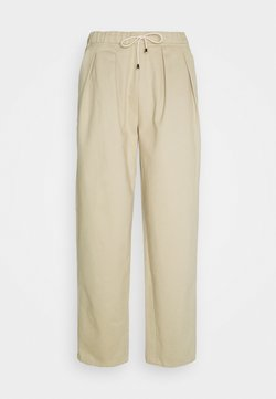 NORTH HILL PARIS - CARROT PANT - Chino - beige