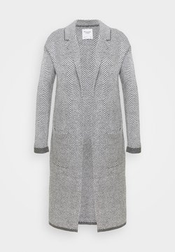 Abercrombie & Fitch - COATIGAN - Strickjacke - grey