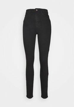 PIECES Tall - PCKAMELIA - Jeans Skinny Fit - black denim