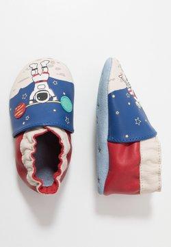 Robeez - MISTER SPACEMAN - Chaussons pour bébé - bleu fonce/klein rouge