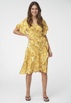 Dea Kudibal - AUDREY - Freizeitkleid - paisley yellow