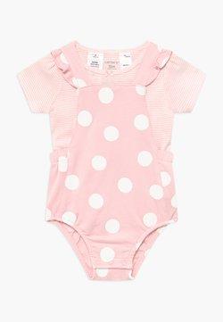 Carter's - BIG DOTS SET - Jumpsuit - pink