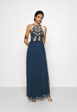 Lace & Beads - FLOY MAXI - Ballkleid - navy