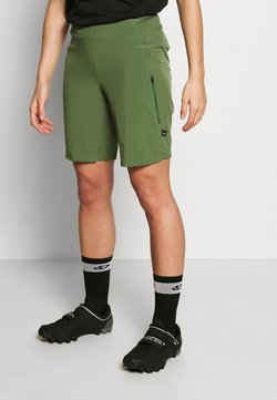 Patagonia - TYROLLEAN BIKE SHORTS - kurze Sporthose - camp green