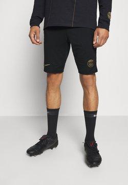 Nike Performance - PARIS ST GERMAIN SHORT - Pantalón corto de deporte - black/truly gold