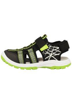 Superfit - Trekkingsandale - black/green