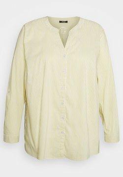 frapp - Langarmshirt - mustard/white