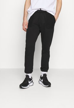 Criminal Damage - LOOPBACK JOGGER - Jogginghose - black
