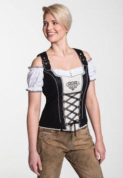 Spieth & Wensky - FRANKFURT - Bluse - black/white