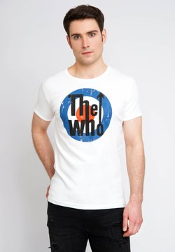 LOGOSHIRT - THE WHO - T-Shirt print - altweiss