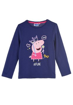 Peppa Pig - Langarmshirt - dunkel-blau