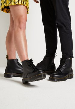 Dr. Martens - 101 BEX - Bottines à lacets - black smooth