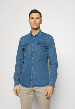 TOM TAILOR DENIM - Camicia - mid stone blue