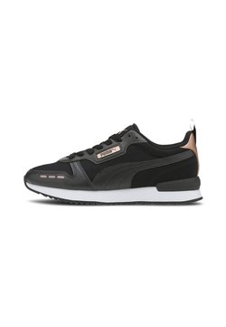 Puma - Sneaker low - black- black-rose gold