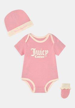 Juicy Couture - BABY SET - Printtipaita - rose quartz
