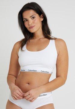 Calvin Klein Underwear - MODERN PLUS UNLINED BRALETTE - Brassière - white