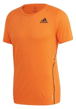 adidas Performance - RUNNER T-SHIRT - T-shirt con stampa - orange