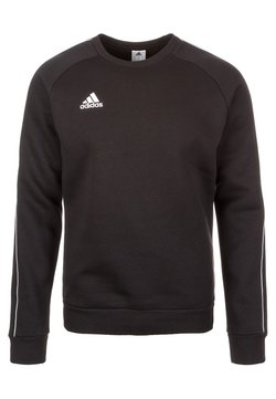 adidas Performance - CORE ELEVEN FOOTBALL LONG SLEEVE PULLOVER - Bluza - black