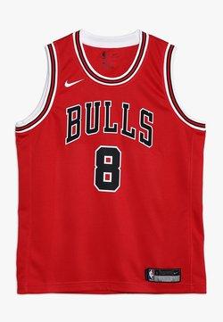 Nike Performance - NBA CHICAGO BULLS ZACH LAVINE ICON SWINGMAN - Pelipaita - red