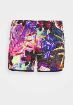 adidas Performance - FLORAL - Pantalón corto de deporte - wild pink/screaming pink