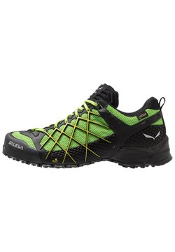 Salewa - MS WILDFIRE GTX - Hikingschuh - black out/fluo yellow