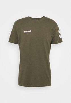 Hummel - Camiseta estampada - grape leaf