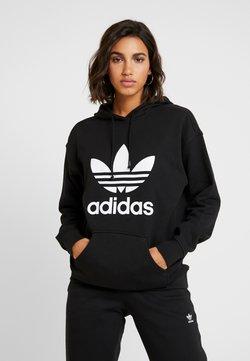adidas Originals - ADICOLOR TREFOIL ORIGINALS HODDIE - Sweat à capuche - black/white