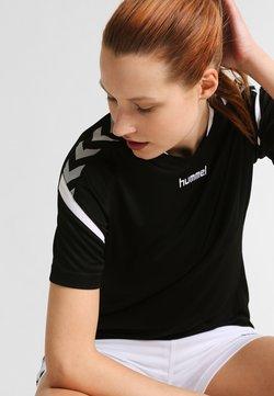 Hummel - AUTHENTIC CHARGE - T-Shirt print - black
