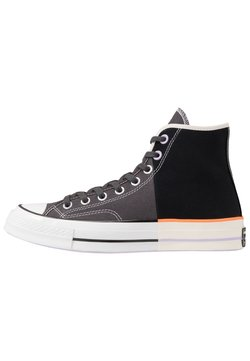 Converse - CHUCK TAYLOR ALL STAR - Sneakersy wysokie - black/anthracite/egret