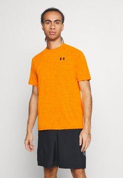 Under Armour - HEATGEAR TECH  - Printtipaita - vibe orange