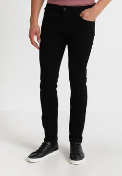 Solid - RYDER - Slim fit jeans - black denim