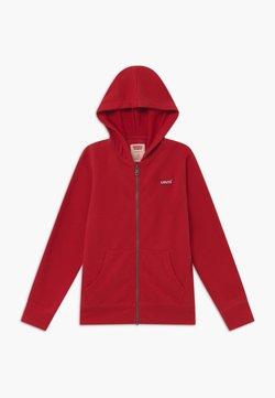 Levi's® - ZIP UP HOODIE - veste en sweat zippée - red