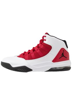 Jordan - MAX AURA - Sneaker high - white/black/gym red