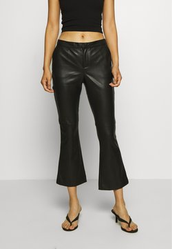 Twist & Tango - CORNELIA TROUSERS - Leather trousers - black