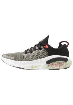 Nike Performance - JOYRIDE RUN FK - Zapatillas de running neutras - black/olive aura/bright crimson