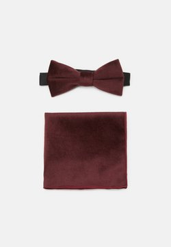 Only & Sons - ONSTBOX THEO BOW TIE HANKERCHIEF SET - Mouchoir de poche - winetasting