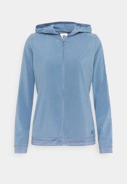 Salomon - COMET LIGHT HOODIE  - Chaqueta outdoor - copen blue