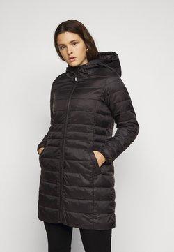 Vero Moda Curve - VMMIKKOLA HOODY - Veste d'hiver - black