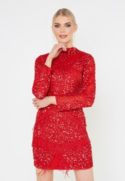 BEAUUT - Cocktailkleid/festliches Kleid - red