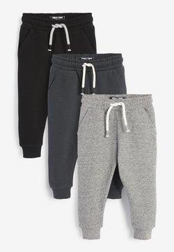 Next - 3 PACK  - Pantaloni sportivi - black