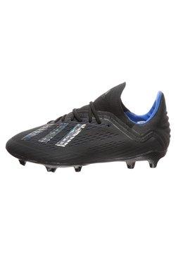 adidas Performance - X 18.1 FIRM GROUND BOOTS - Fußballschuh Nocken - core black/bold blue