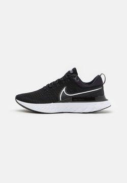 Nike Performance - REACT INFINITY RUN FK 2 - Zapatillas de running neutras - black/white/iron grey