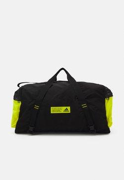 adidas Performance - Sporttasche - black/acid yellow