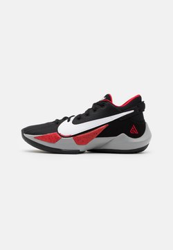 Nike Performance - ZOOM FREAK 2 - Indoorskor - black/white/university red
