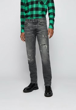 BOSS - TABER BC - Jeans Slim Fit - grey