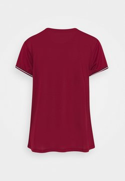 Tommy Sport - FASHION PERFORMANCE TOP - Funktionsshirt - rouge
