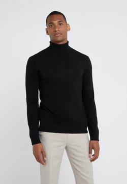 pure cashmere - MEN TURTLENECK  - Strickpullover - black