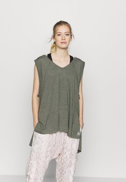 Free People - CITY VIBES TANK - Top - army
